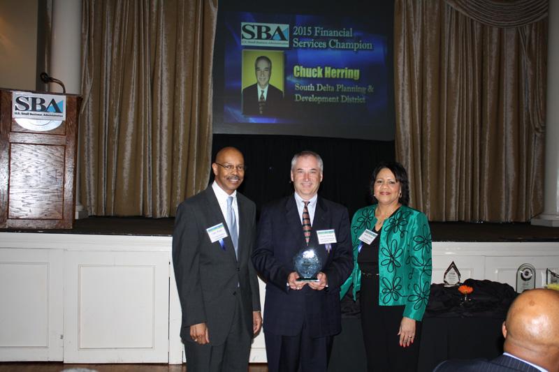 Chuck's SBA Award
